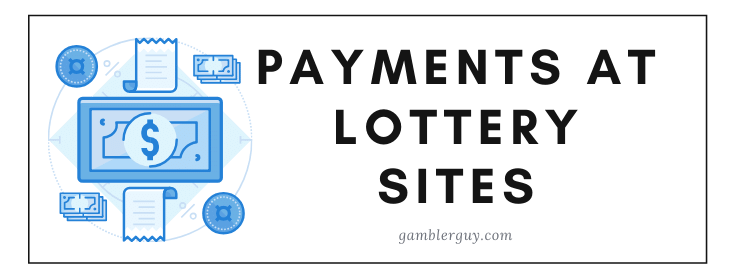 PAYMENTS AT LOTTERY sites