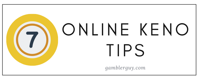 best online keno tips